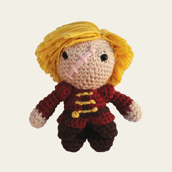 Tyrion Lannister - Game of Thrones. Amigurumi Pattern PDF.