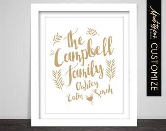 Family Name - Custom