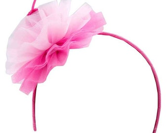 Adorable Girls Pink Cherry on Top Headband Birthday Hair Accessory