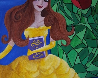 Disney's Belle in her Yellow Ballgown from Beauty and the Beast