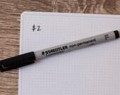 Staedtler pen (BLACK)