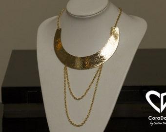 24K Gold Plated Regina Necklace
