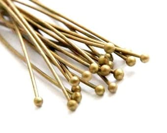 40 x 60 mm x 0.7 mm bronze ball pins