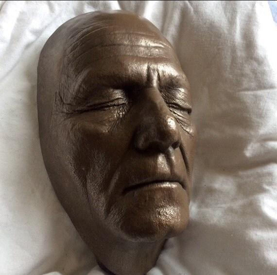 Skuts Peter Biography: Peter Falk Columbo Life Cast Life Mask Bronze Resin