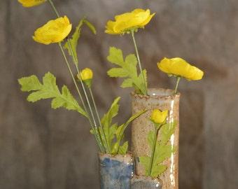 Triple Flower Vase