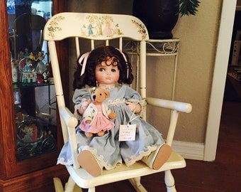 "Lady Anne Porcelain Baby Doll ""Cindy"""