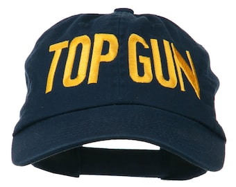 Top Gun Embroidered Low Profile Pet Cap