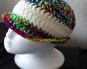 Carnival Crocheted Cap