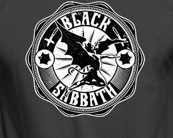 Black Sabbath Hoodie. Heavy Metal clothing. Rock and Roll. Music hoodies
