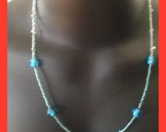 Necklace-beaded