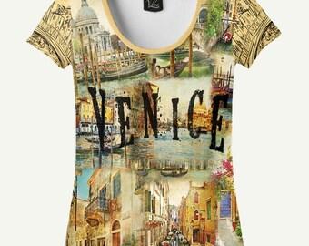 Venice T-shirt, Venice Shirt, Women's T-shirt, Women's Shirt