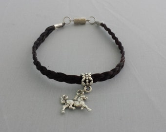 Beautiful Custom Made Hand Braided Real Horse Hair Bracelet