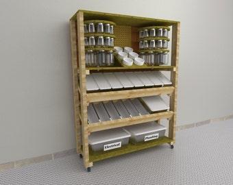 Parts Storage Bin-How To Plan