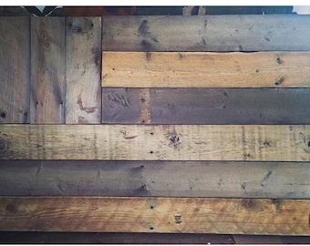 Barn Wood Flags