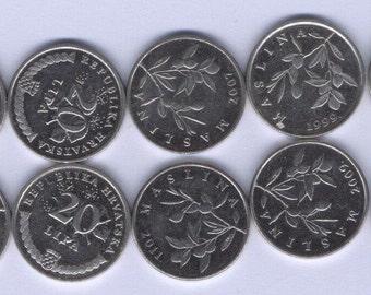 CROATIA COIN 20 LIPA