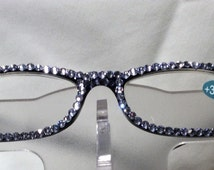 3.25 Swarovski Crystal Reading Glasses (lavender) FREE SHIPPING
