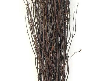 """1 Bunch White Birch Twigs 26""""-30"""""""