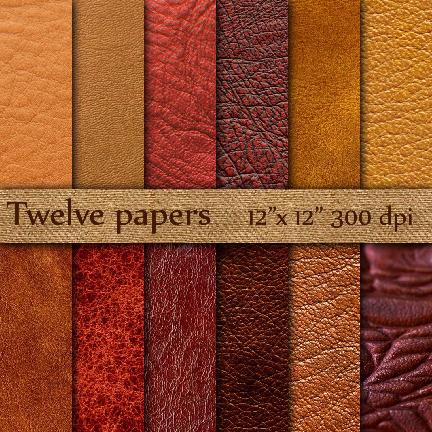 leather digital paper quotbrown leatherquot leather texture