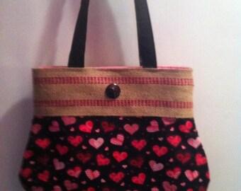 Handbag handsewn and handmade