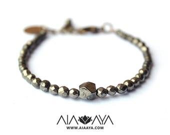 AYA Pyrite Bracelet