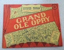 Grand Ole Opry Signed Program-1940's