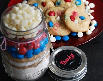 4th of July Cookie Mix/ Cookie Mix in a Jar