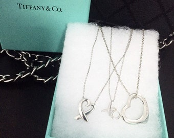 Authentic Tiffany & co. Necklaces