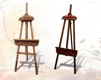 Easel  | Wood Easel | Wooden Easel | Painting Easel | Display Easel | Floor Easel | Oak Easel