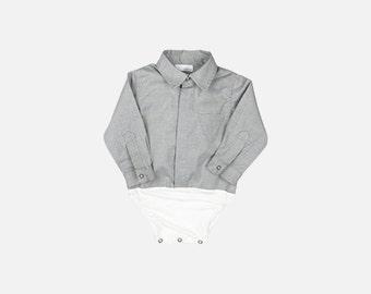 Infant Oxford | Triangle Pocket