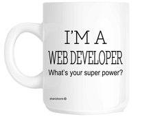 Web Developer Novelty Gift Mug SHAN268