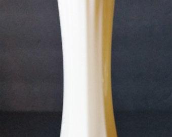 Westmoreland Cream Milk Glass Swung Vase