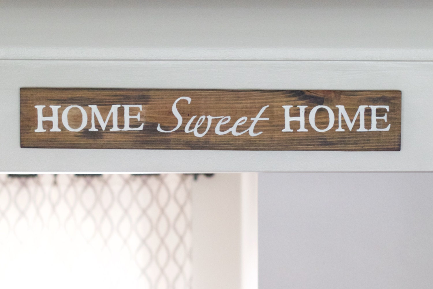 Home Sweet Home Wooden Sign Rustic Home Sweet Home Sign