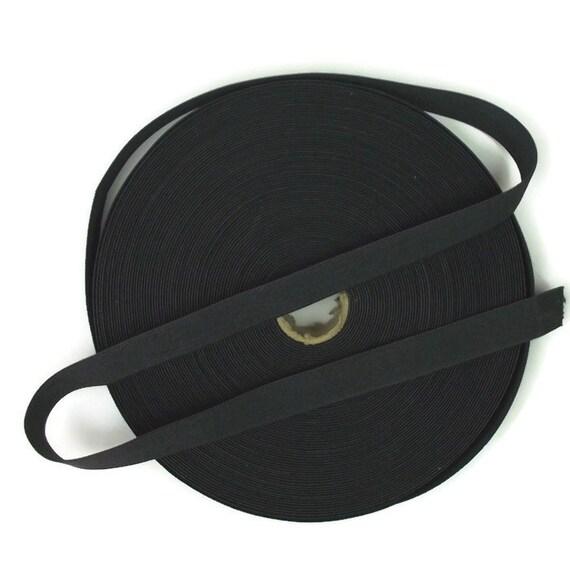 5 Meters Dark Grey 1 inch 25mm Suspender Webbing / Waistband Elastic
