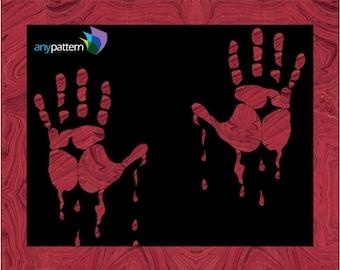 Halloween-Bloody Hands