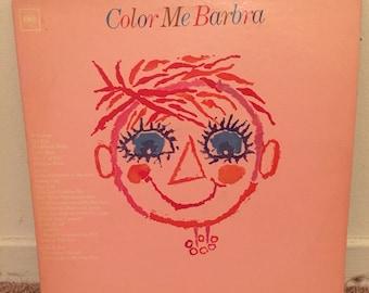 Barbra Streisand Color Me Barbra Vinyl LP 1966