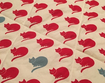 SALE!! Soft Kitty Quilt
