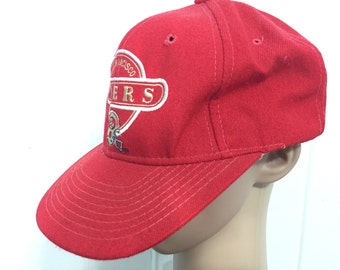 80's san francisco 49ers hat snap back