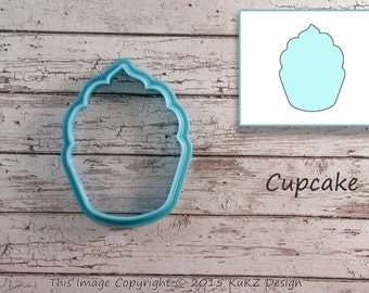 Cupcake cookie cutter / Muffin cookie cutter / Cookie cutter cupcake / Cookie cutter / Shaped cookie cutter / fondant cutter