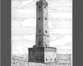 Peel Monument (Holcombe Tower), Holcombe Hill, Lancashire.