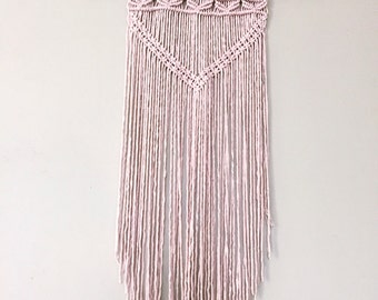 Macrame Boho Wall Art
