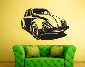 rvz1617 Wall Decal Vinyl Sticker Decals Car Auto Automobile Bug Slug Surf