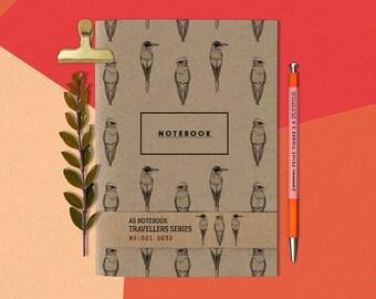 A5 Tropical Bird Notebook