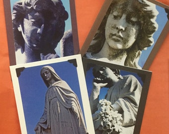Original Photography Note Cards - Statues