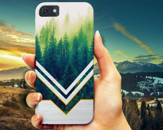 Wood Chevron Forest iPhone 6 6s case, iPhone 6 6s Plus case, iPhone 6 case, Samsung Galaxy s5 phone case, Galaxy s6 wood case, iPhone 5 5s
