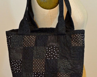 Black Bag Quilted
