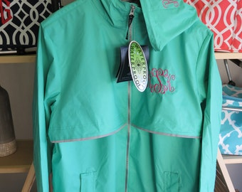 Free Monogramming Hood & Left Chest...Charles River Monogrammed Rain Jacket.