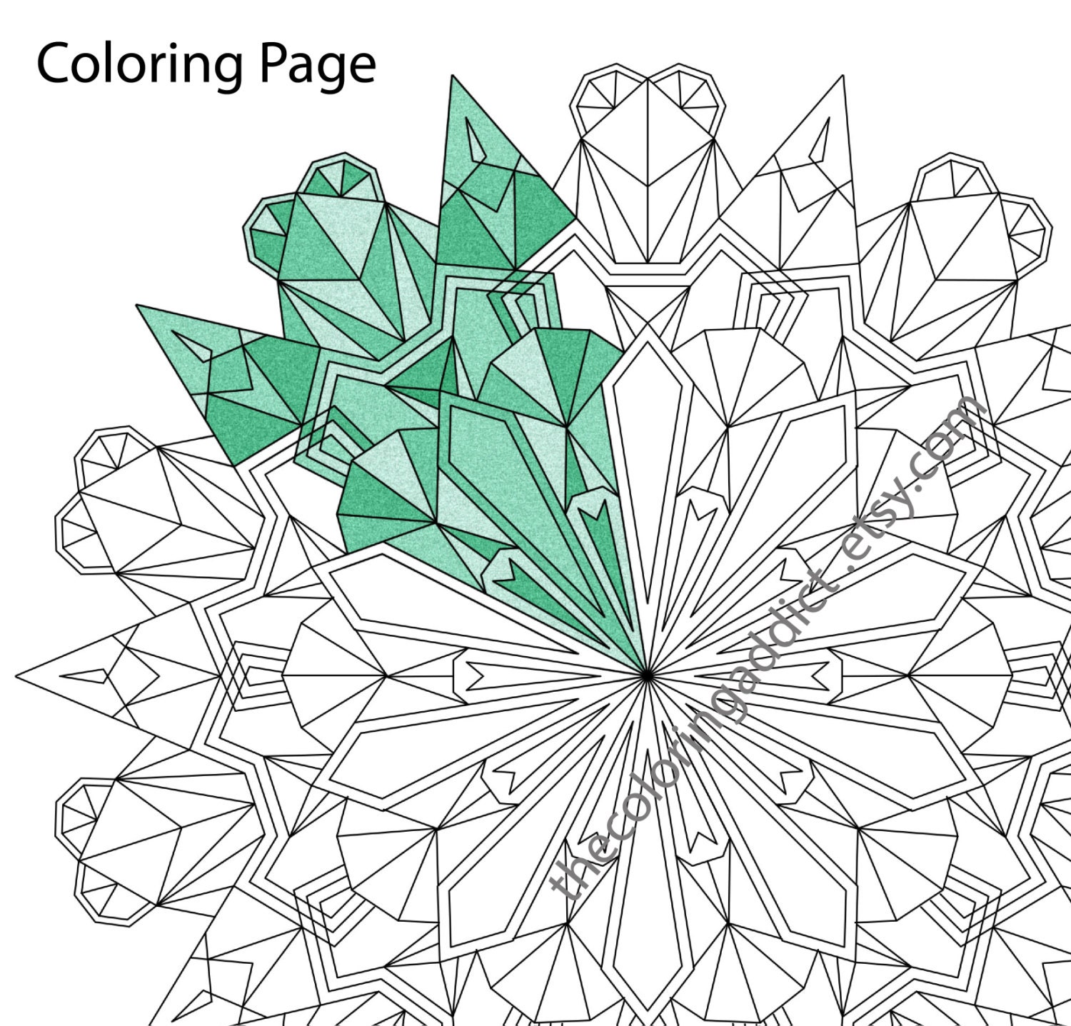 The coloring book e book - This Is A Digital File