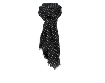 Black scarf modal