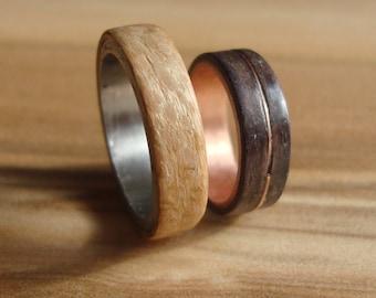 Unique partner rings / friendship ring