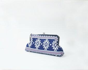 Custom Aztec Pattern Clutch